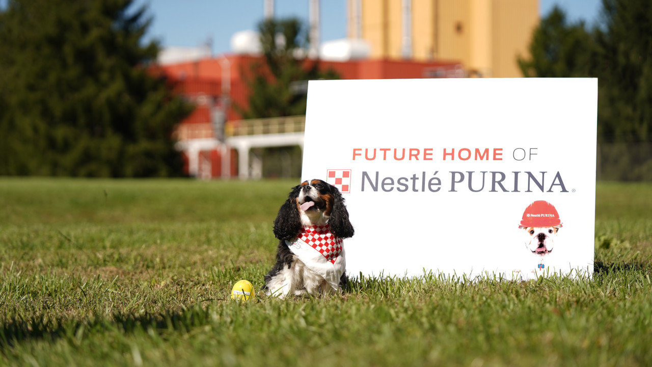 The new pet food factory will become operational in 2022. Credit: Nestle Purina PetCare.