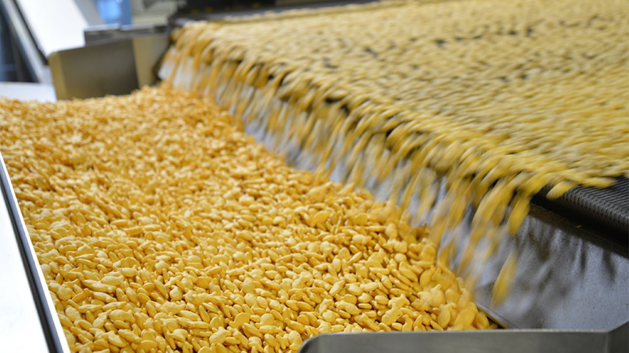 Campbell Soup's Goldfish Production Facility
