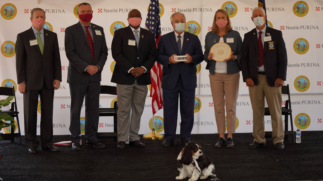 The new pet food facility will be spread over 1.3 million squared feet. Credit: Nestle Purina PetCare.