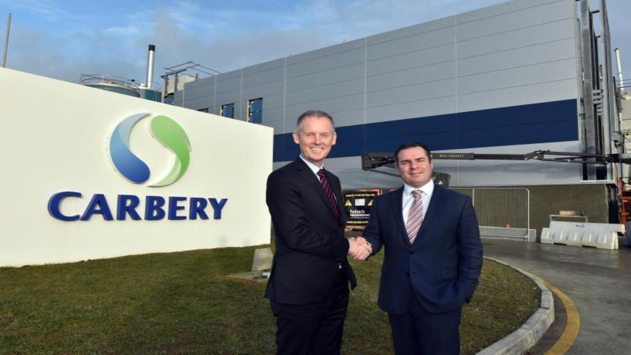 Carbery Group's expansion in Ballineen involved an estimated investment of €78m($86m). Credit: Carbery Food Ingredients Limited.