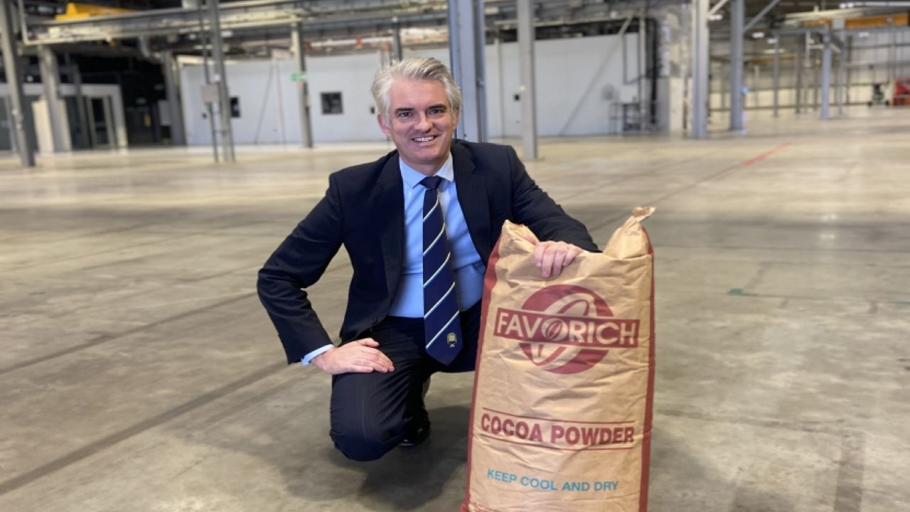 GCB's cocoa manufacturing facility will create 220 jobs in the initial phases. Credit: James Cartlidge MP for South Suffolk.