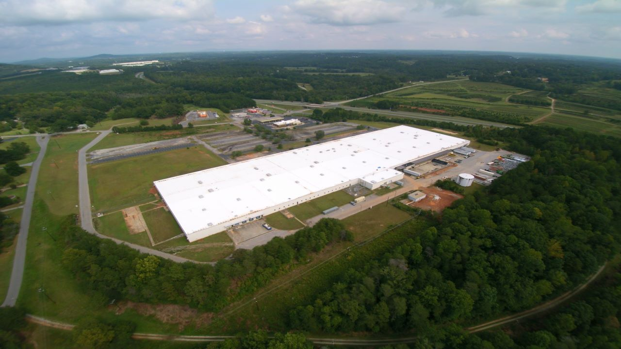 US Waffle Company consolidated two of its existing facilities into the new one. Credit: AM King.