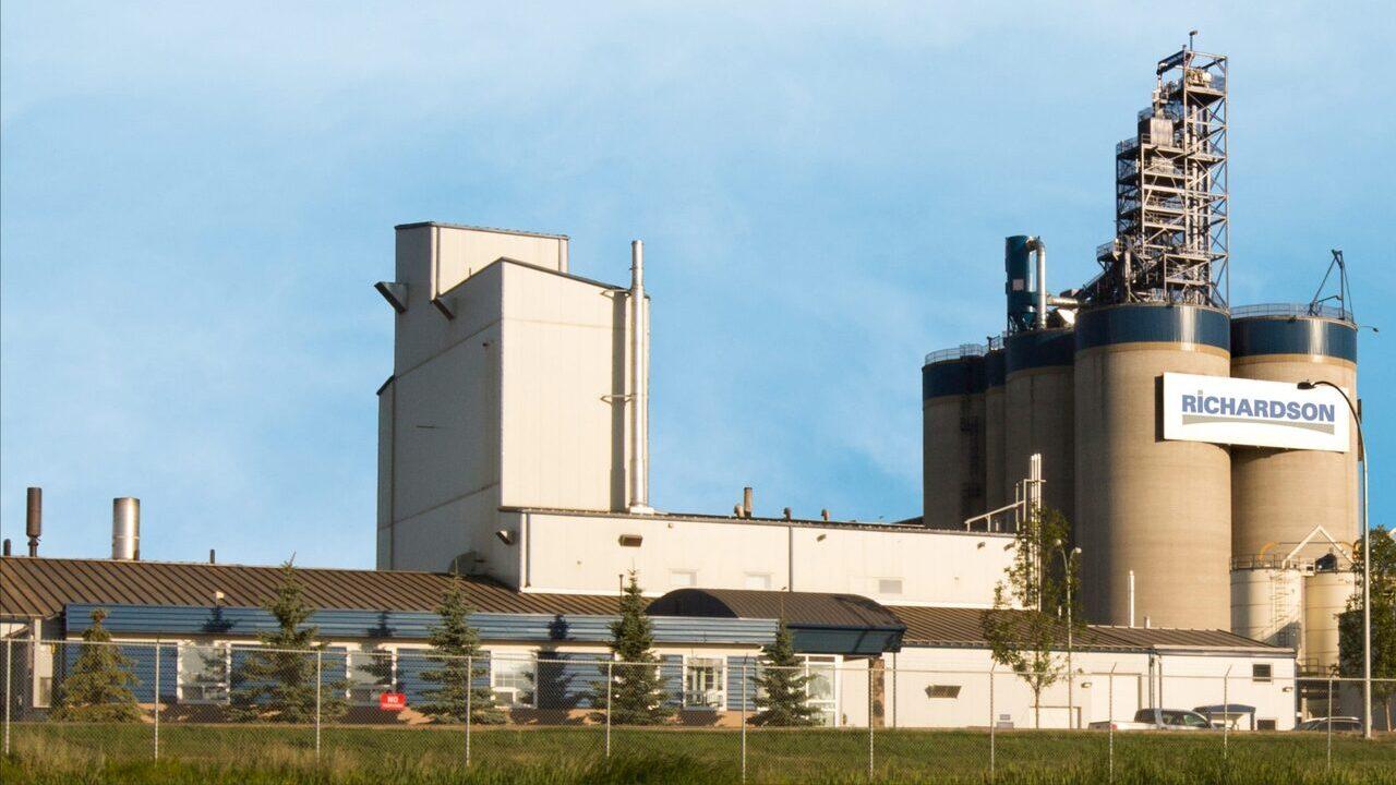 Richardson's Yorkton canola crush plant expansion will increase its annual processing capacity to 2.2 million metric tonnes. Credit: Richardson International Ltd.