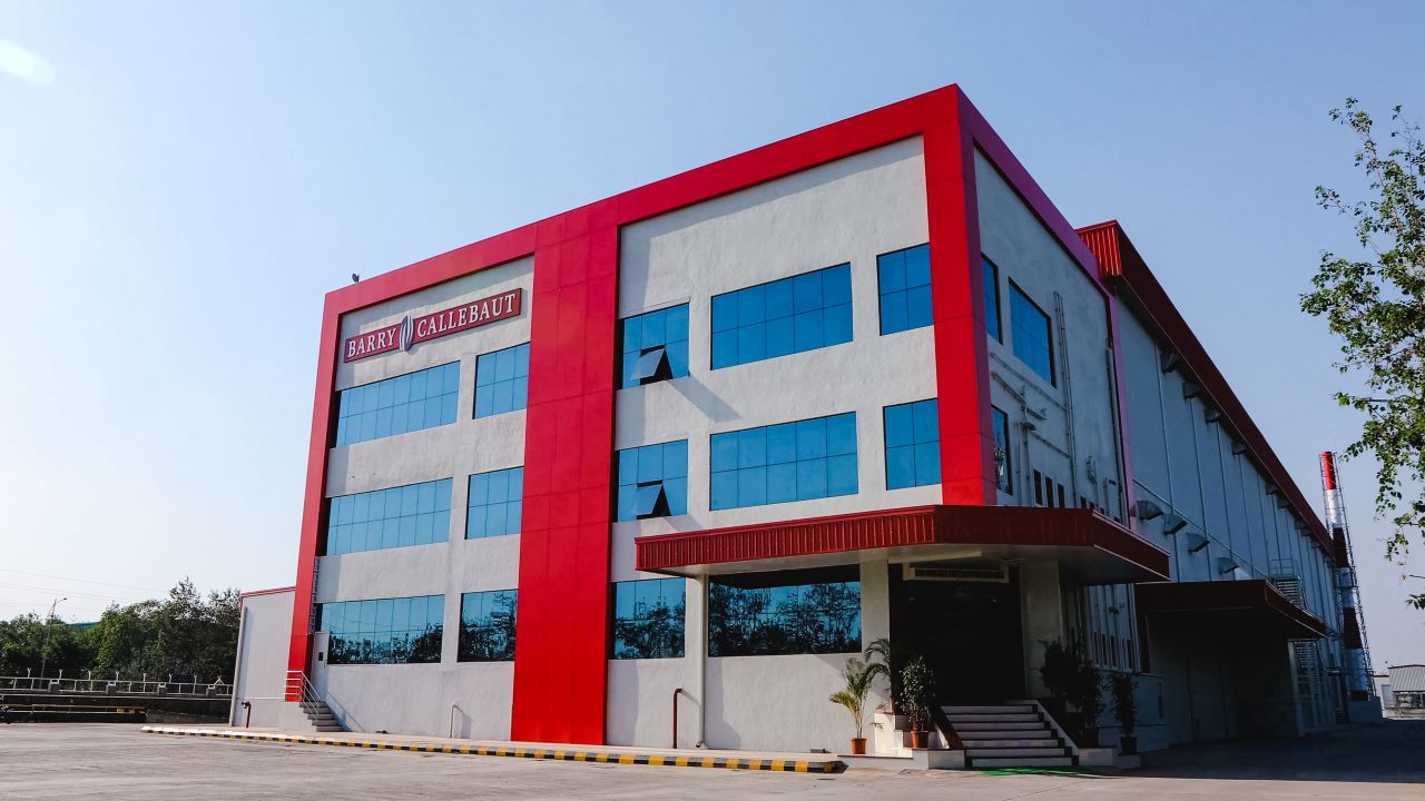 Barry Callebaut's new chocolate factory is located in Baramati, India. Credit: Barry Callebaut.