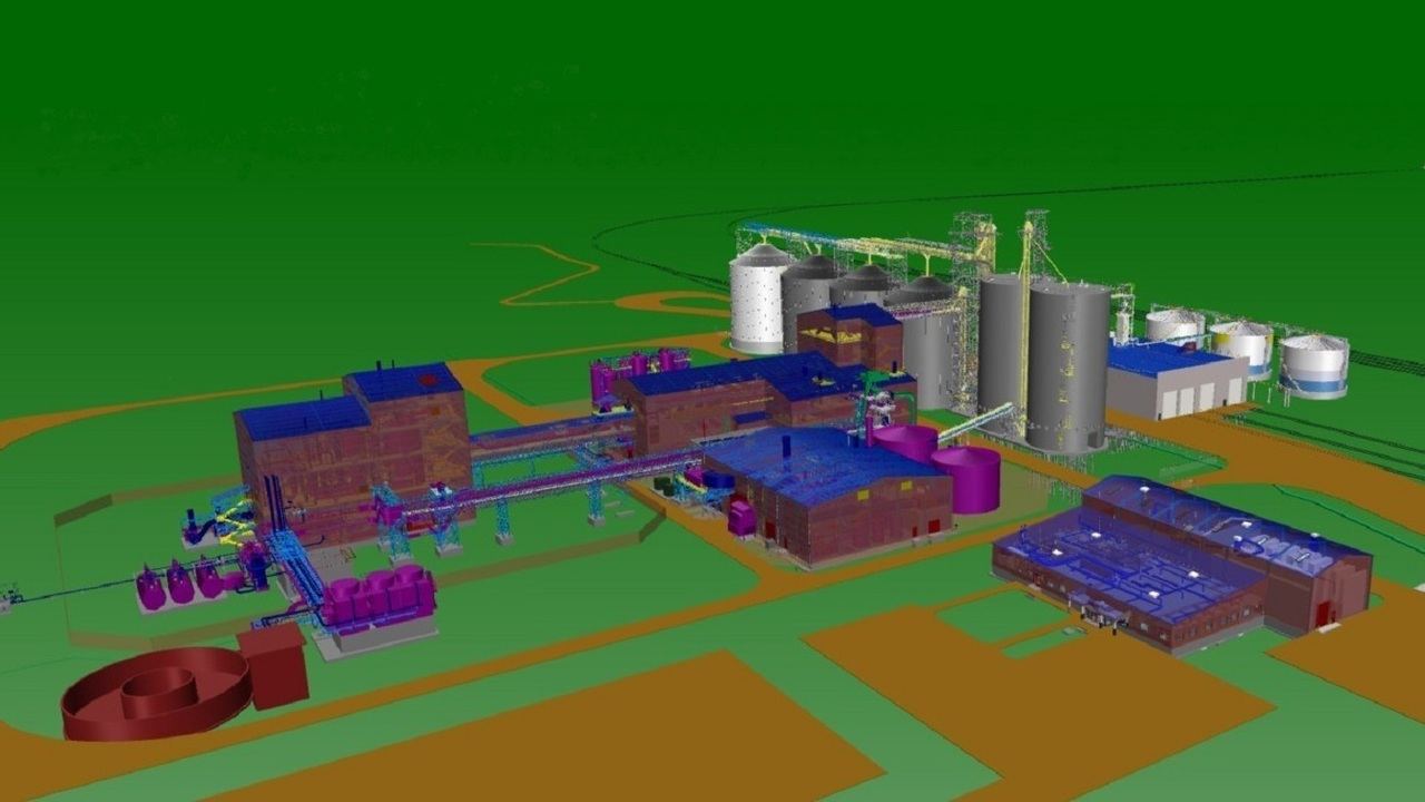 Cargill's new canola processing plant in Regina will have a production capacity of one million metric tonnes. Credit: Cargill, Inc.
