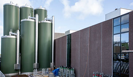 Whey protein processing facility