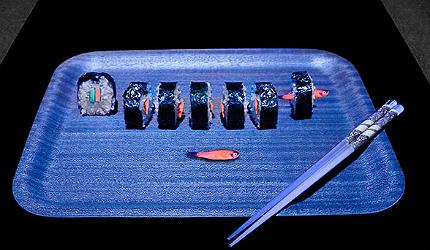 Glofish radiate a specific colour