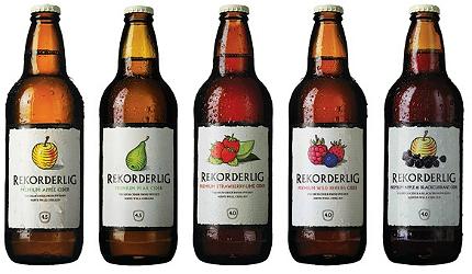 Rekorderlig cider varieties