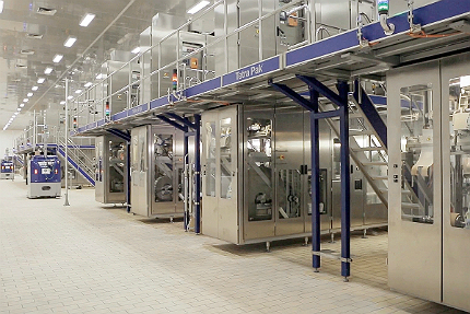 Vinamilk's Vietnam Milk Facility, Binh Duong Province