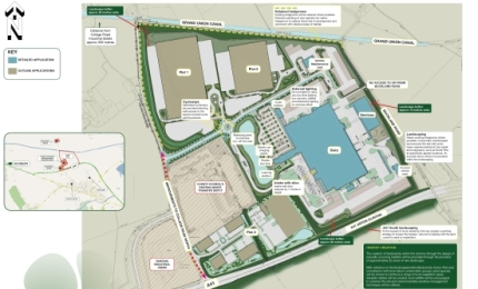 Arla Foods site plan