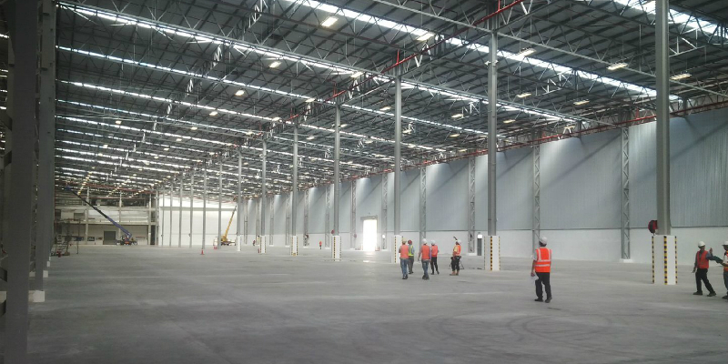 BlueScope Buildings specialises in engineered structural systems for the food processing technology.