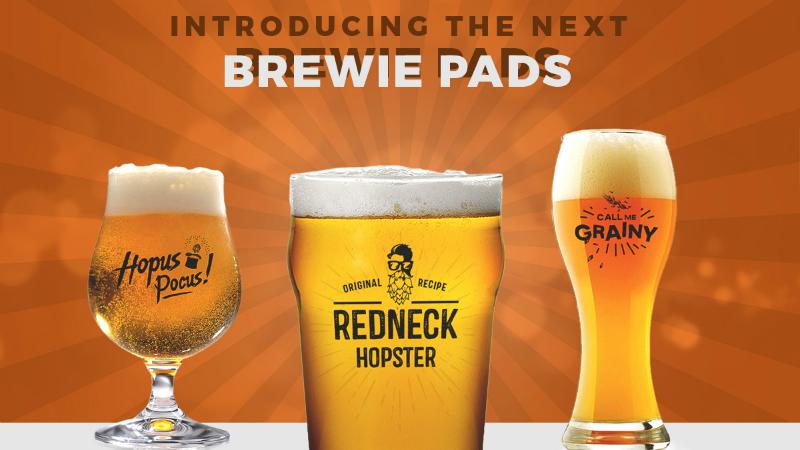 New Brewie Pads