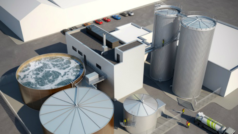 New Wastewater Processing Plant