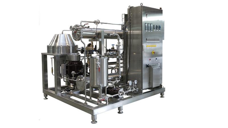 Centritherm High-Vacuum evaporator