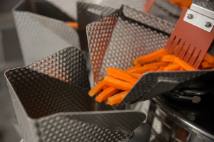 An Ishida multi-head weigher at Irish vegetable grower Leo Dunne has played a central role in helping the company expand its operation into the supply of processed carrots.