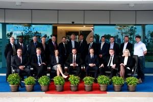 The Danish trade delegation in Malaysia.
