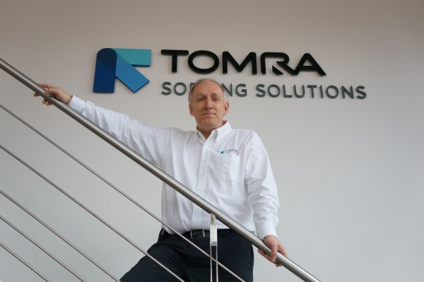 Ashley Hunter of TOMRA Sorting Solutions.