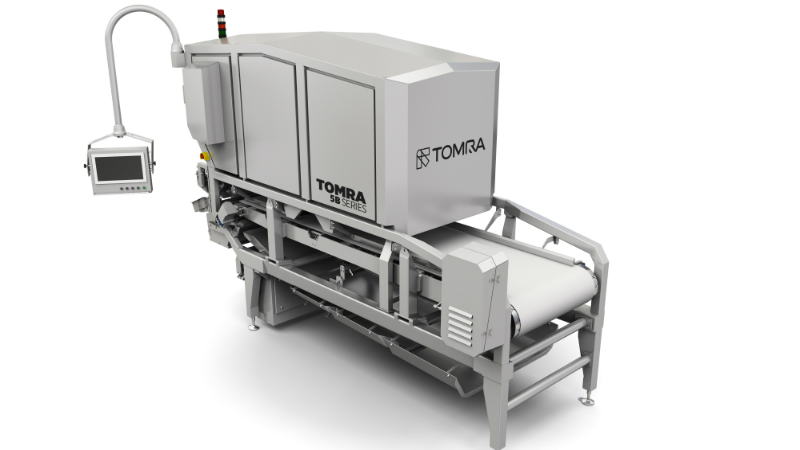 TOMRA's new sorting machine with new identification system