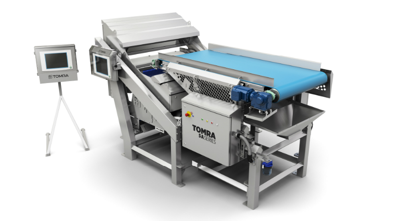 TOMRA Sorting Food's potato processing machine TOMRA 5A