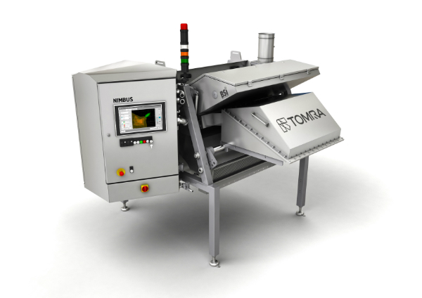 TOMRA Sorting Food will showcase its award-winning Nimbus BSI sorting machine at Foodex 2016.