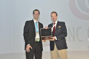 TOMRA Sorting Solutions has won the 2015 Innovation Award at the World Nut and Dried Fruit Congress in May 2015 at Antalya, Turkey.