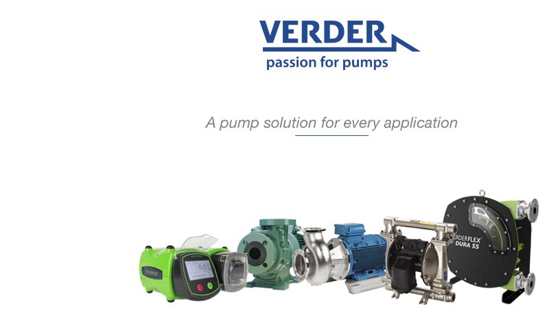 Hose and tube pumps for waste water and food processing