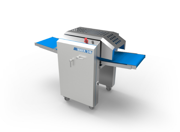 BAADER's new skinning machine for salmon is designed for twin or single lane skinning.