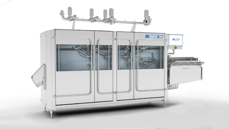 BADAAR 144 salmon gutting machine