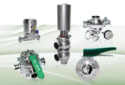 MINOX sanitary valves
