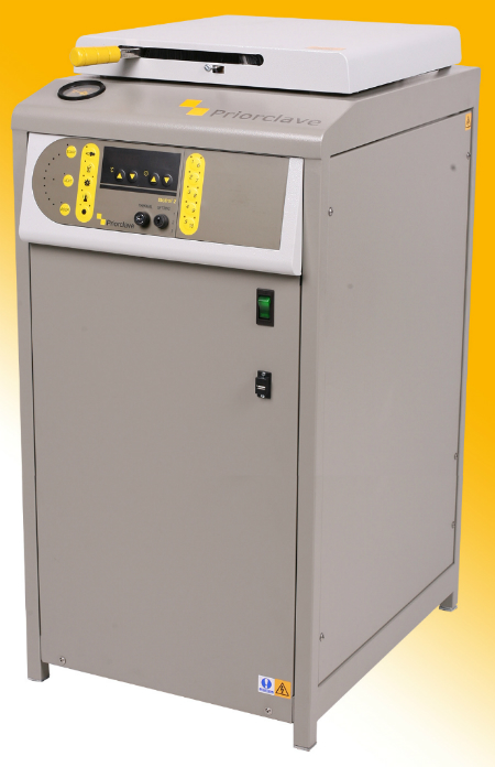 C85 top loading autoclave.