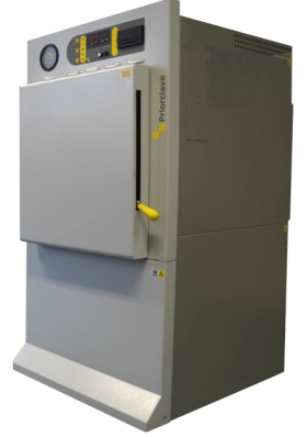 The QCS front loading autoclave range introduced by Priorclave.