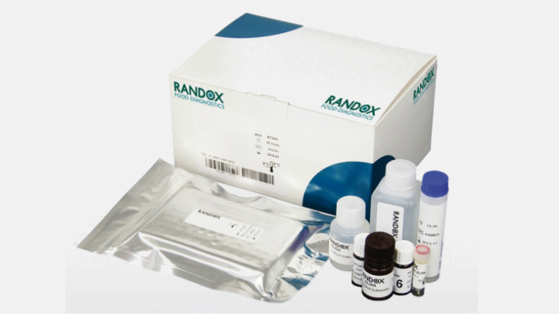 Distribution of Randox drug residue kits