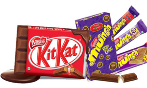 Nestlé confectionery brands