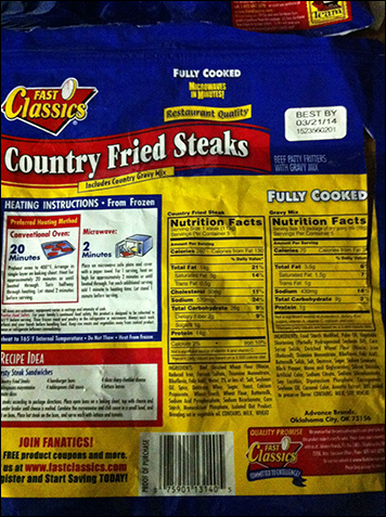 countryfriedsteakproduct