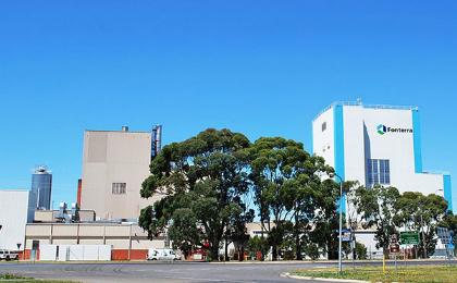 Fonterra's new milk plant in Victoria