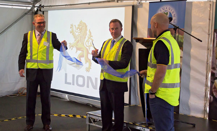 Lion inaugurated its re-developed cheese factory at Burnie in May 2015.