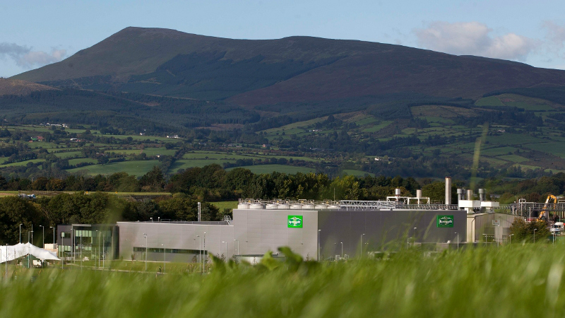 Ornua Kerrygold butter production and packing facility