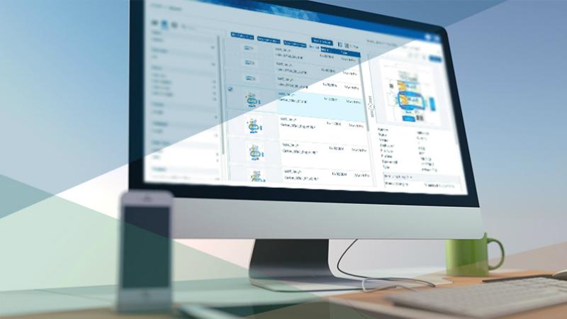 BLUE Digital Asset Manager