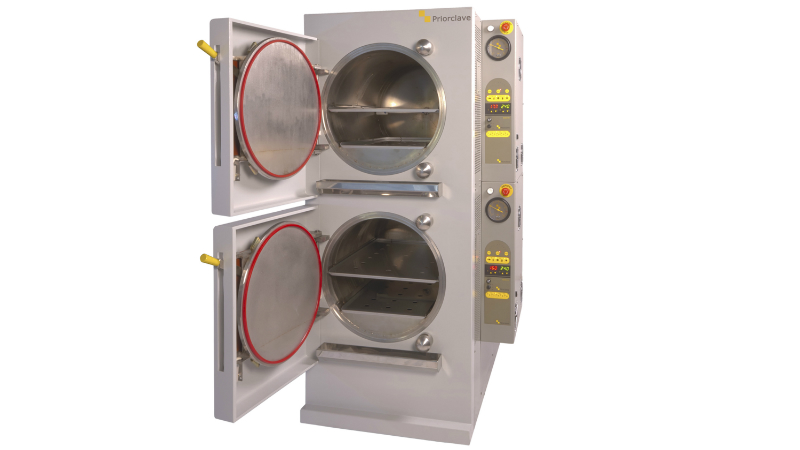 Stackable autoclaves