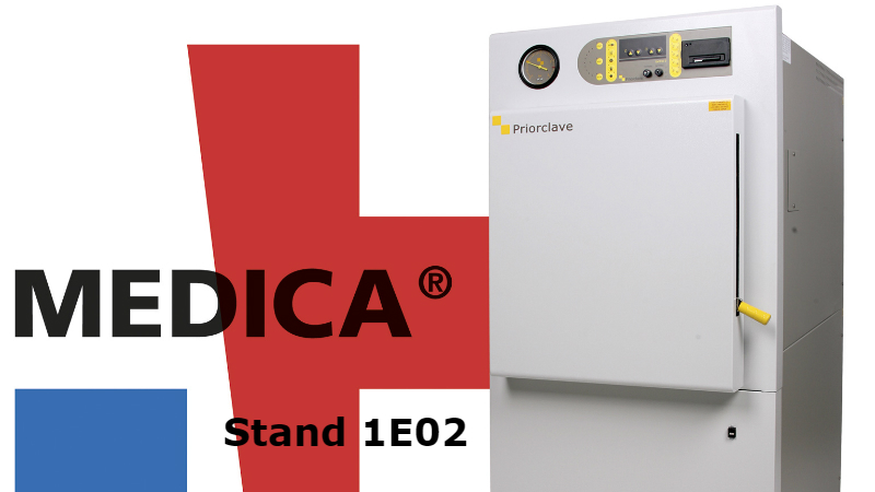 Priorclave to attend Medica